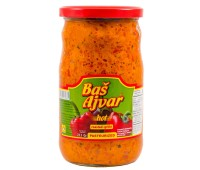 Ajvar Hot Homemade Style Bas 680g / 24oz