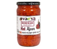 Ajvar Hot Roasted Pepper Spread Homemade Style VaVa 680g / 24oz