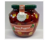 Cherry Peppers with Cheese Balkan Gardens 510g