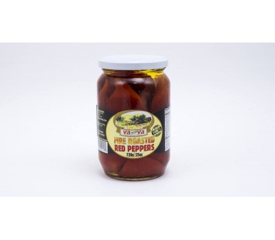 Fire Roasted Red Peppers VA-VA 720 g/25 oz