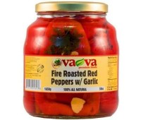 Fire Roasted Red Peppers with Garlic VaVa 1650g / 58oz