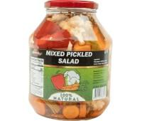 Mixed Pickles Salad Serdika 1600g / 56.80oz