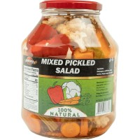 Mixed Pickles Salad Serdika 1600g / 56.80oz