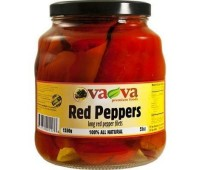 Red Long Peppers Pickled VaVa 1550g / 55oz
