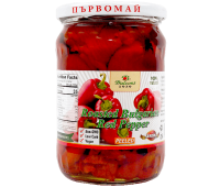 Red Roasted Peppers Peeled Parvomai 540g