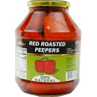 Roasted Red Peppers Serdika Peeled 1600g / 56.80oz