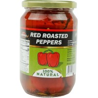 Roasted Red Peppers Serdika Peeled 650g / 23oz