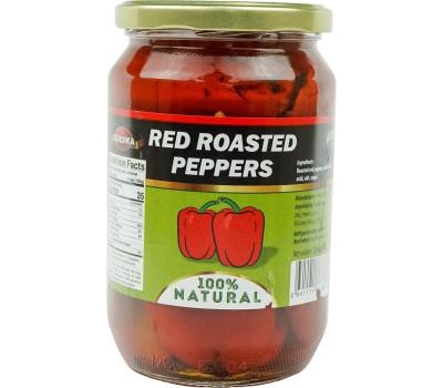 Roasted Red Peppers Serdika Peeled 650g / 23oz