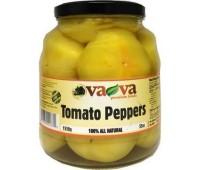 Доматени пиперки мариновани цели VaVa 1550г / 54.7oz