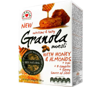 Granola with Honey & Almonds Vitalia 350g / 12oz