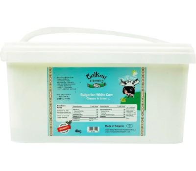 Бяло краве сирене Balkan Creamery 4kg