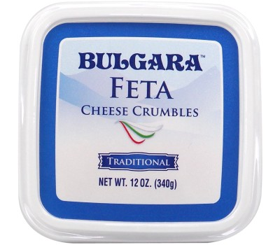 Crumbled Bulgarian Cow Cheese Bulgara 12oz