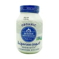 Non Fat Bulgarian Yogurt Organic Probiotic White Mountain 0.946l / 32oz