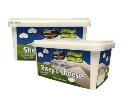 Sar Planina Sheep's Feta Cheese Balkan Farms 400g / 14.1oz