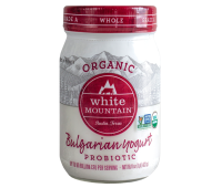 Whole Milk Bulgarian Yogurt Organic Probiotic White Mountain 0.47l / 16oz