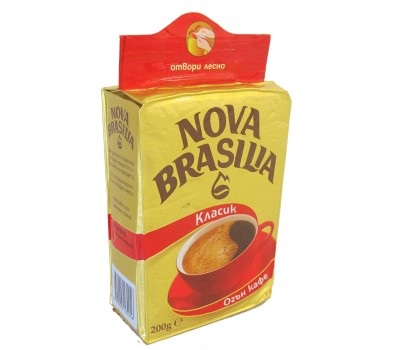 Nova Brasilia Classic Ground Coffee 200g / 7oz