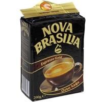 Nova Brasilia Espresso Gold Coffee 200g / 7oz