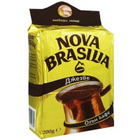 Нова Бразилия Джезве мляно кафе 200г / 7oz