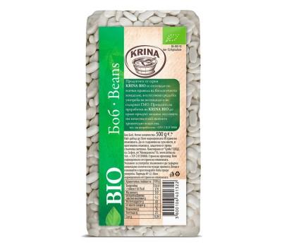 Organic White Beans Krina 500g