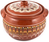 Guvech Bulgarian Clay Pot for Cooking 7.5l