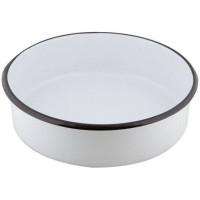 Емайлирана кръгла тава дълбока 36см / 8см