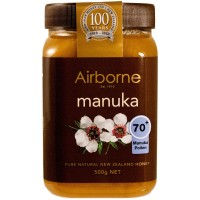 Health Creamed Manuka Honey 70+ Airborne 500g / 17.5oz