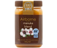 Manuka Honey Blend 25+ Airborne 500g / 17.5oz