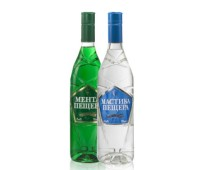 Mastika & Menta Peshtera Anise and Mint Flavored Liqueurs