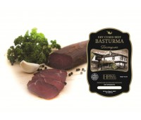 Beef Pastarma Dry Cured Beef Hebros Foods 0.55 lb
