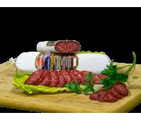 Maystorska Lukanka Dry Pork & Beef Pressed Salami Serdika Foods 0.48-0.58 lb
