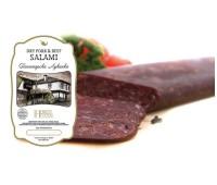 Panagurska Lukanka Pork & Beef Dry Salami Hebros Foods 0.63 lb