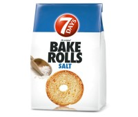 Bake Rolls 7Days Salt 112g / 3.95oz
