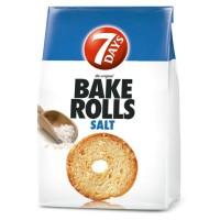 Bake Rolls 7Days Salt 112g / 3.95oz