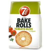Bake Rolls 7Days Tomato - Olive 112g / 3.95oz