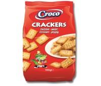 Солени бисквити крекер Croco сусам и маково семе 100г