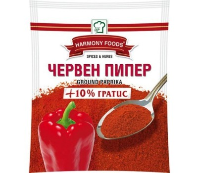 Paprika Ground Mild Red Pepper Harmony Foods 100g