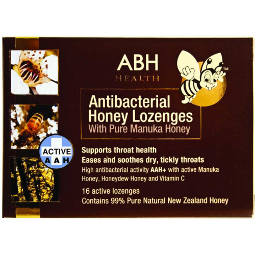 ABH Health Manuka And Honeydew Honey Lozenges