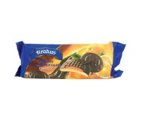 Chocolate Covered Cookies with Orange Filling Krakus 135g / 4.76oz