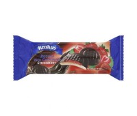 Chocolate Covered Cookies with Strawberry Filling Krakus 135g / 4.76oz