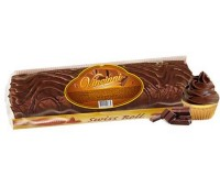 Chocolate Swiss Roll Filled with Chocolate Cream Vincinni 300g / 10.5oz