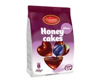 Honey Hearts Plum Gingerbread Bites Vincinni 150g
