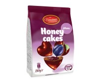 Honey Hearts Plum Gingerbread Bites Vincinni 350g