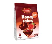 Honey Hearts Strawberry Gingerbread Bites Vincinni 350g