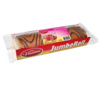 Jumbo Swiss Roll Raspberry Vincinni 300g / 10.5oz