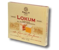 Lokum Rose & Lemon Turkish Delight Donia 400g / 14oz
