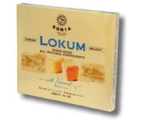 Lokum with Coconut Turkish Delight Donia 400g / 14oz