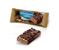 Wafer Chernomorets with Cocoa & Peanuts 80g