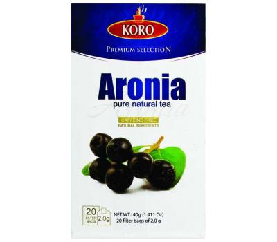 Билков чай Арония KoRo 40g / 20 пакетчета