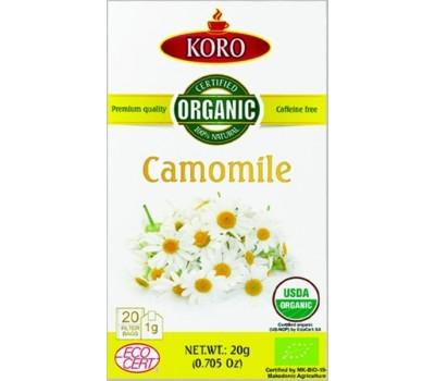 Camomile Organic Tea KoRo 20g / 20 tea bags