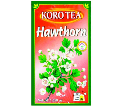 Билков чай Глог KoRo 30g / 20 пакетчета